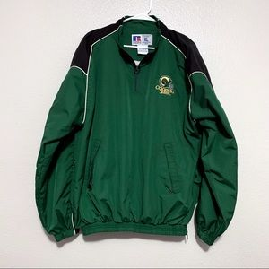 Russell Athletic Green Colorado State Windbreaker